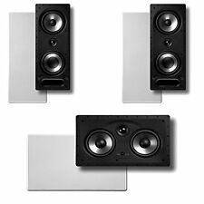 Polk Audio Vanishing RT Series 3.0 In-Wall Home Speaker System (2-265RT &