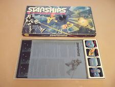 VINTAGE WADDINGTONS STARSHIPS BOARD GAME 1980 - VERY GOOD CONDITION & COMPLETE
