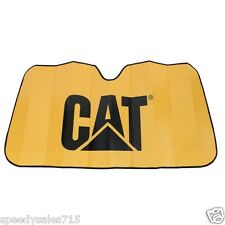 Plasticolor 003701R01 Caterpillar CAT Logo Sunshade Tractor New Free Shipping
