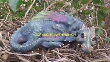 NEW DESIGN RUBBER LATEX MOULDS MOLD MOLD LARGE DRAGON TO MAKE GARDEN ORNAMENT #2