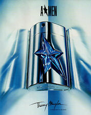 Publicité Advertising 1998  Parfum  A MEN  de Thierry Mugler