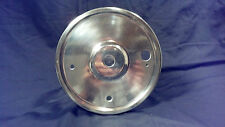 Triumph motorcycle vintage rear wheel brake drum cover plate