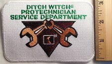 DITCH WITCH PROTECHNICIAN SERVICE DEPARTMENT PATCH