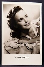 Maria Schell AK - Foto Autogramm-Karte - Photo Postcard (Lot F1406