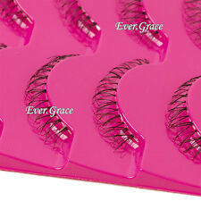 5Pairs Handmade Soft Lower Eye Lashes Under Bottom Natural Cross False Eyelashes