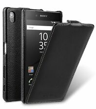 Melkco Premium Leather Case for Sony Xperia Z5 - Jacka Type (Black LC) H18141
