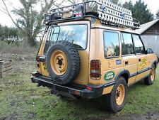 CAMEL TROPHY STYLE LANDROVER  DISCOVERY TDI 200/300 REAR TOP LIGHT GUARDS