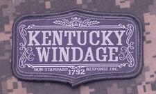 Mil-Spec Monkey Kentucky Windage Morale Patch ACU-Light Hook Back