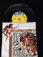"Electric Light Orchestra - Secret Messages 7"" Vinyl PROMO Pic Sleeve Jet A3720"