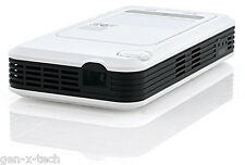 Android 4.2 Portable DLP Projector: 260 Lumens WiFi DLNA 1080p & SD Card Support