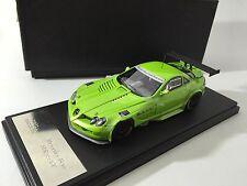 1/43 Fline Mercedes-Benz SLR 722 GT Open & Close Green Metallic