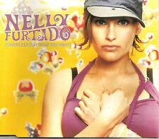 NELLY FURTADO Powerless w/ REMIX & ACOUSTIC TRX UK CD single SEALED USA Seller
