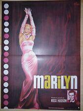 marilyn monroe MARILYN ! affiche cinema  :-