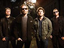 Chad Kroeger, Ryan Peake, Mike Kroeger & Daniel Adair photo - D1024 - Nickleback