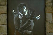 A4 BANKSY ART PHOTO PRINT FOR 99P (MOBILE LOVERS)