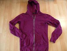 Amisu Hoodie kapuzensweatjacke uva Purple talla s top kb516