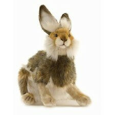 Brown Hare Hansa Plush Stuffed Animal 4076 Heirloom Quality Bunny Rabbit Gift
