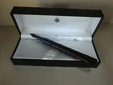MONTEVERDE REGATTA SPORT BLACK CARBON FOUNTAIN PEN.MGNETIC CAP, FREE SHIPPING