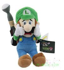 "Luigi`s Mansion 2 Stuffed Animal Super Mario Bros. 9"" Luigi Plush Soft Toy FR*"
