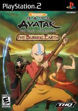 Avatar The Burning Earth - PS2