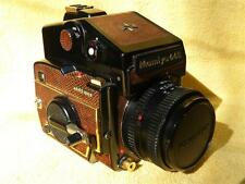 SUPERB VERY RARE MAMIYA 645/1000S LIZARD SKIN COVERED ONE OF 300 MADE