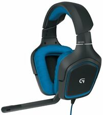 LOGITECH G430 DTS Headphone: X and Dolby 7.1 Surround Sound Gaming Headset (981