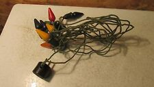 Old C-6 Christmas Tree Light String Propp.  Tested  No. 17