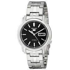 Seiko SNKK71 Gent's Automatic Black Dial Steel Bracelet Watch