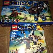 Lego Chima x2 70008 Gorzan's Gorilla Striker 70003 Eris' Eagle Interceptor NEW