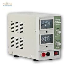 Laboratorio de Fuente de Alimentación, 0-15V 0-2A DC Transformador Ajustable