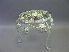 Blum-côté Table d'appoint Métal Tabouret à fleurs Jardinières 32 cm