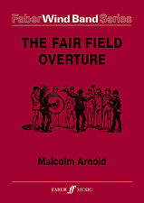 The Fair Field Overture Score & Parts Wind Band FLUTE CLARINET FABER Music BOOK