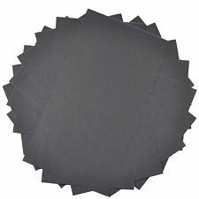 """10x HQRP 3"""" x 5 1/2"""" Wet Dry Sandpaper 800 Grit, Waterproof Silicone Carbide"""
