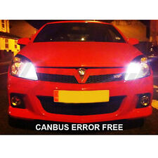 ASTRA H 05-10 VECTRA XENON WHITE LED SIDELIGHT BULBS CANBUS ERROR FREE 8 SMD