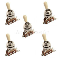 5pcs Ivory 3 Way Toggle Switch For Les Paul Electric Guitar Parts