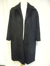 "Ladies Coat black mohair, bust 38-40"", length 38"", custom made, very good 2190"