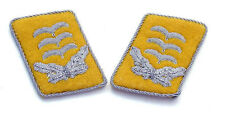 WW2 German Luftwaffe Officer Collar Tabs (Captain/Hauptmann)