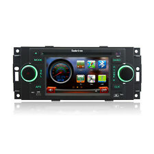 Autoradio Stereo GPS Satnav DVD for Dodge Caravan Jeep Wrangler Chrysler 300C
