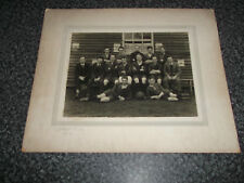 Football Club Team Photograph. Birmingham & District Amateur FA. c1930's.