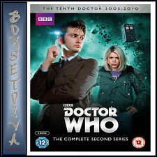 DOCTOR WHO- COMPLETE BBC SERIES 2 - SECOND SERIES **BRAND NEW DVD*