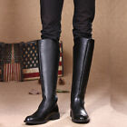 # 2016 NEW Rock COOL MEN High Knee Equestrian Cowboy Riding Army long boot US 12