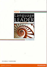 Pearson NEW LANGUAGE LEADER Elementary Coursebook Student Book 2014 EDITION @New