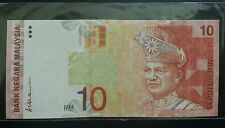 MALAYSIA RM10 9th Series ALI ABUL Side~UNC-No Foxing