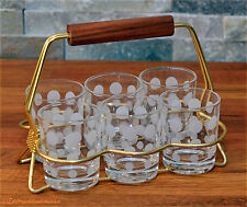 Kultiges 50er schnapsset-bar-set Fifties-riñones mesa era menage rockabilly