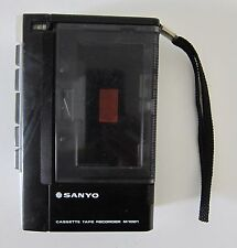 Vintage Sanyo M1001 Cassette Tape Recorder