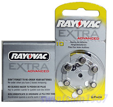 Rayovac ***Advanced*** Hearing Aid Batteries Size 10 FRESH Expire 2019 (60 pcs)