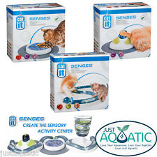 FREE SHIPPING CATIT Design Senses Play Circuit, Scratch Pad, Massage Center NEW