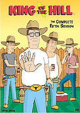 King of the Hill Complete Series 5 DVD Box Set Season Brand New UK R2 5th Fifth
