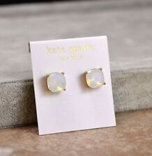 Kate Spade Essentials Small Square Stud white Earrings