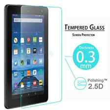 9H+ Premium Tempered Glass Screen Protector For Amazon Kindle Fire HD 7 2015